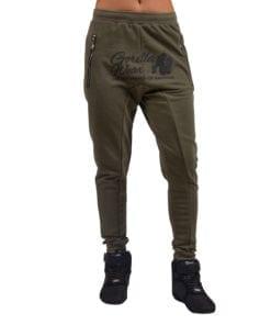 Sportbroek Heren Dames Groen - Gorilla Wear Celina-2