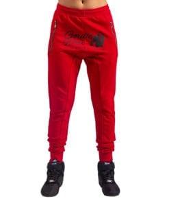 Sportbroek Heren Dames Rood - Gorilla Wear Celina-1