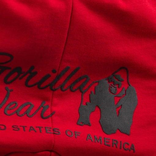 Sportbroek Heren Dames Rood - Gorilla Wear Celina-4