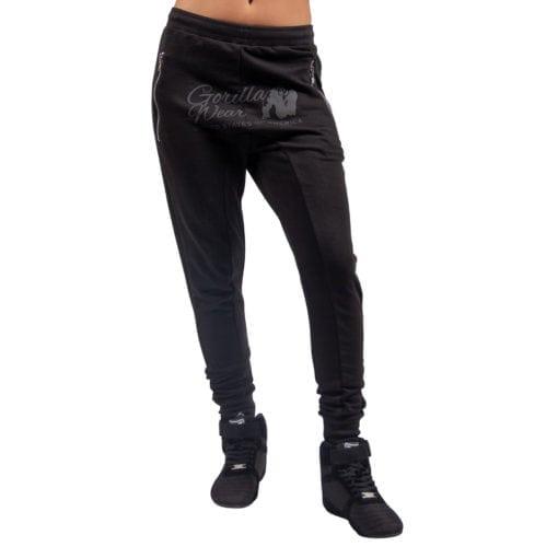 Sportbroek Heren Dames Zwart - Gorilla Wear Celina-1