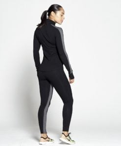 Sportlegging Dames Profit Zwart Grijs - Pursue Fitness 2