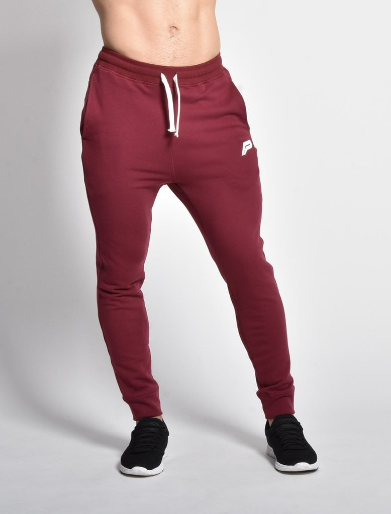 sportbroek retro Rood - Pursue Fitness 1