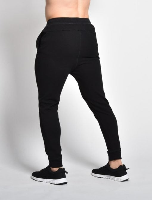 sportbroek retro Zwart - Pursue Fitness 2
