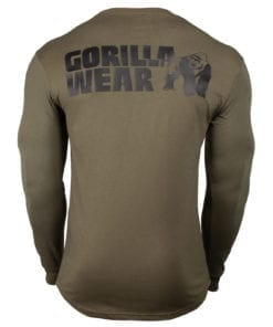 Sport Longsleeve Groen - Gorilla Wear Williams 2