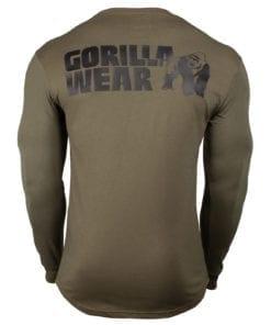Sport Longsleeve Groen - Gorilla Wear Williams 2