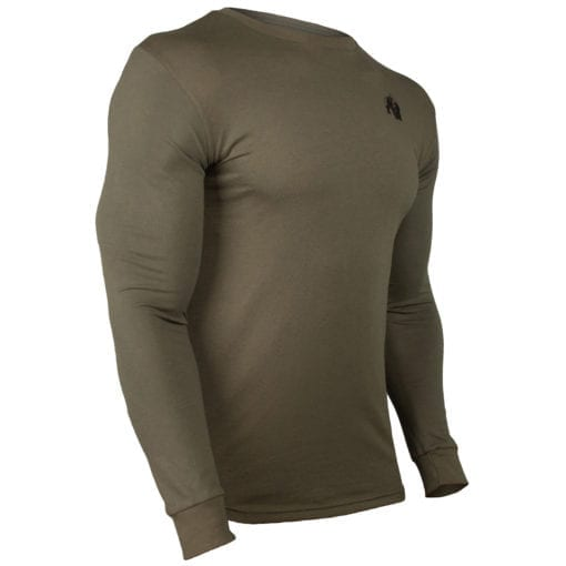 Sport Longsleeve Groen - Gorilla Wear Williams 3