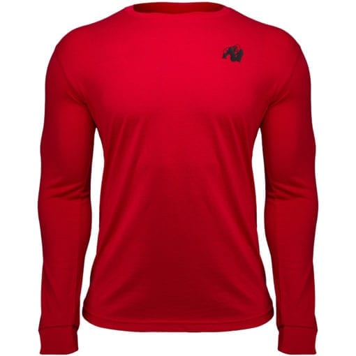 Sport Longsleeve Rood - Gorilla Wear Williams 1
