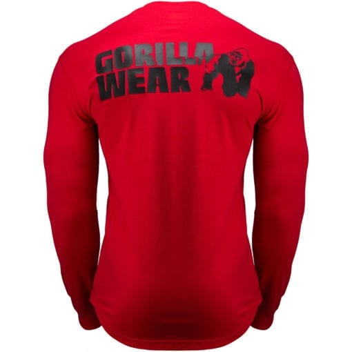 Sport Longsleeve Rood - Gorilla Wear Williams 2