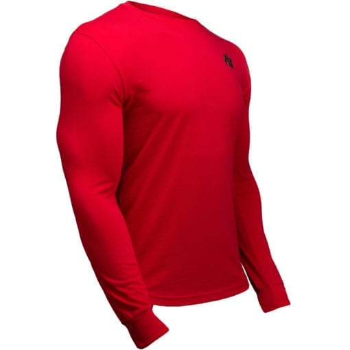 Sport Longsleeve Rood - Gorilla Wear Williams 3