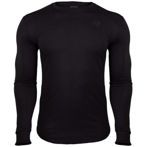 Sport Longsleeve Zwart - Gorilla Wear Williams 1