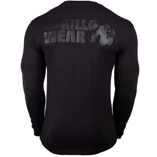 Sport Longsleeve Zwart - Gorilla Wear Williams 2