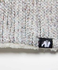 Sport Sjaal Wit:Grijs - Gorilla Wear Bellevue Neck Warmer 2
