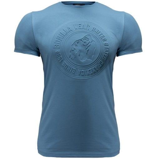 Sport T-shirt Blauw - Gorilla Wear San Lucas 1