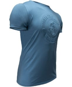 Sport T-shirt Blauw - Gorilla Wear San Lucas 3