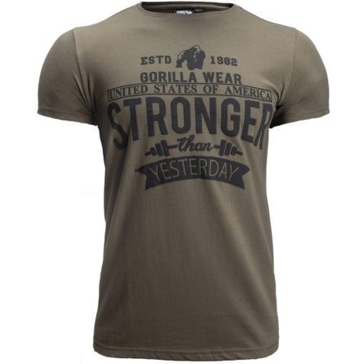 Sport T-shirt Groen - Gorilla Wear Hobbs 1