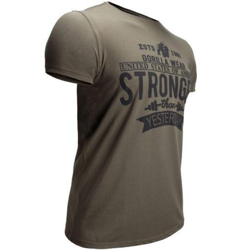 Sport T-shirt Groen - Gorilla Wear Hobbs 3