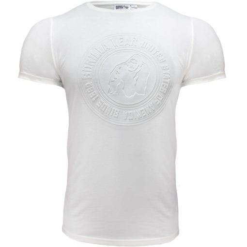 Sport T-shirt Wit - Gorilla Wear San Lucas 1