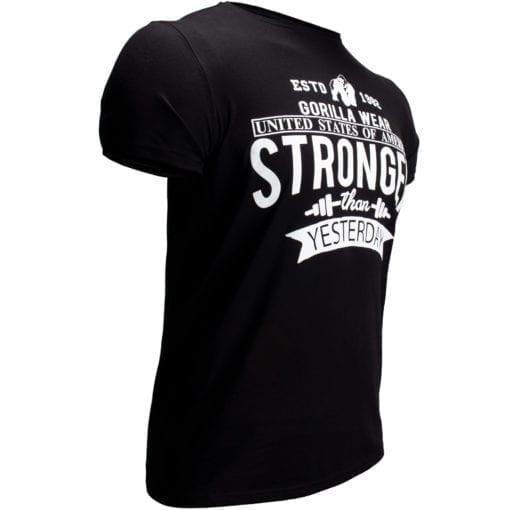 Sport T-shirt Zwart - Gorilla Wear Hobbs 2