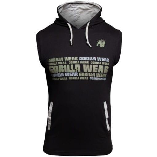Sport Vest Zwart - Gorilla Wear Melbourne 1