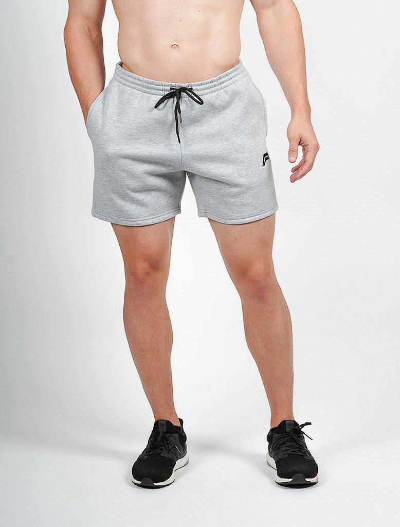 Sport Korte Broek Heren.Sport Shorts Heren Grijs Pursue Fitness Icon Tapered