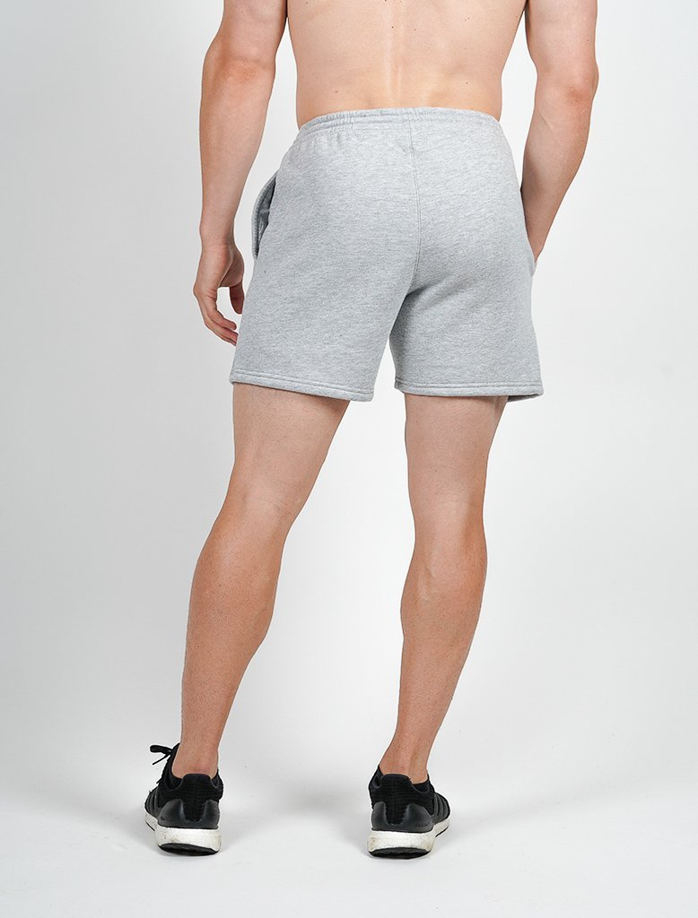 80a4380c831ca Sport Shorts Heren Grijs - Pursue Fitness Icon Tapered ...