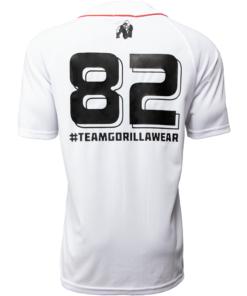 Bodybuilding T-Shirt Wit - Gorilla Wear 82 Jersey -1
