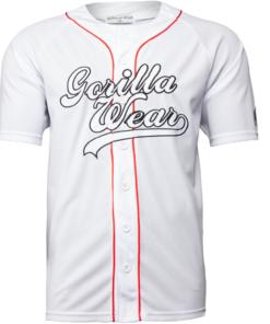 Bodybuilding T-Shirt Wit - Gorilla Wear 82 Jersey -2