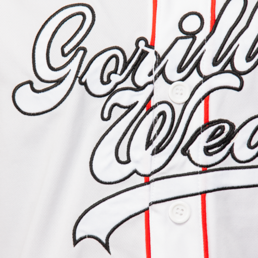 Bodybuilding T-Shirt Wit - Gorilla Wear 82 Jersey -3