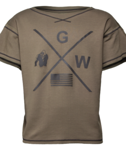 Bodybuilding Work Out Top Groen - Gorilla Wear Sheldon -1