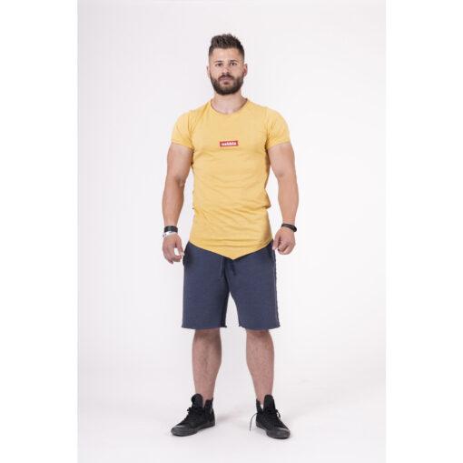 Fitness-Shirt-Heren-Geel---Nebbia-142-1