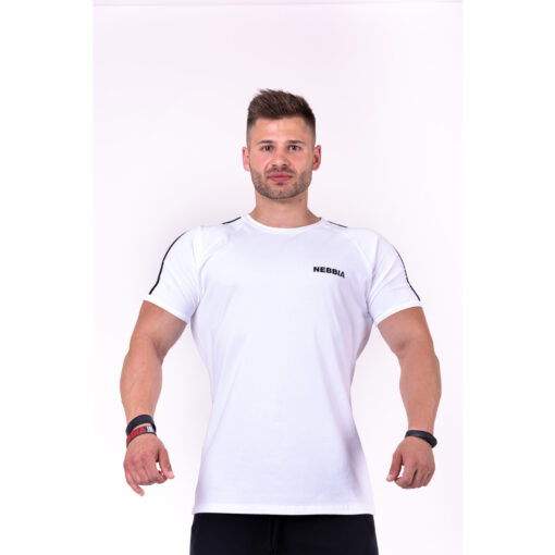 Fitness-Shirt-Heren-Wit--Nebbia-143-1
