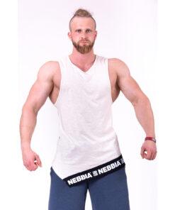 Fitness-Tanktop-Heren-Beige---Nebbia-141-1