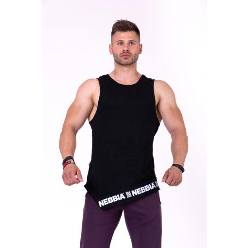 Fitness-Tanktop-Heren-Zwart---Nebbia-141-1