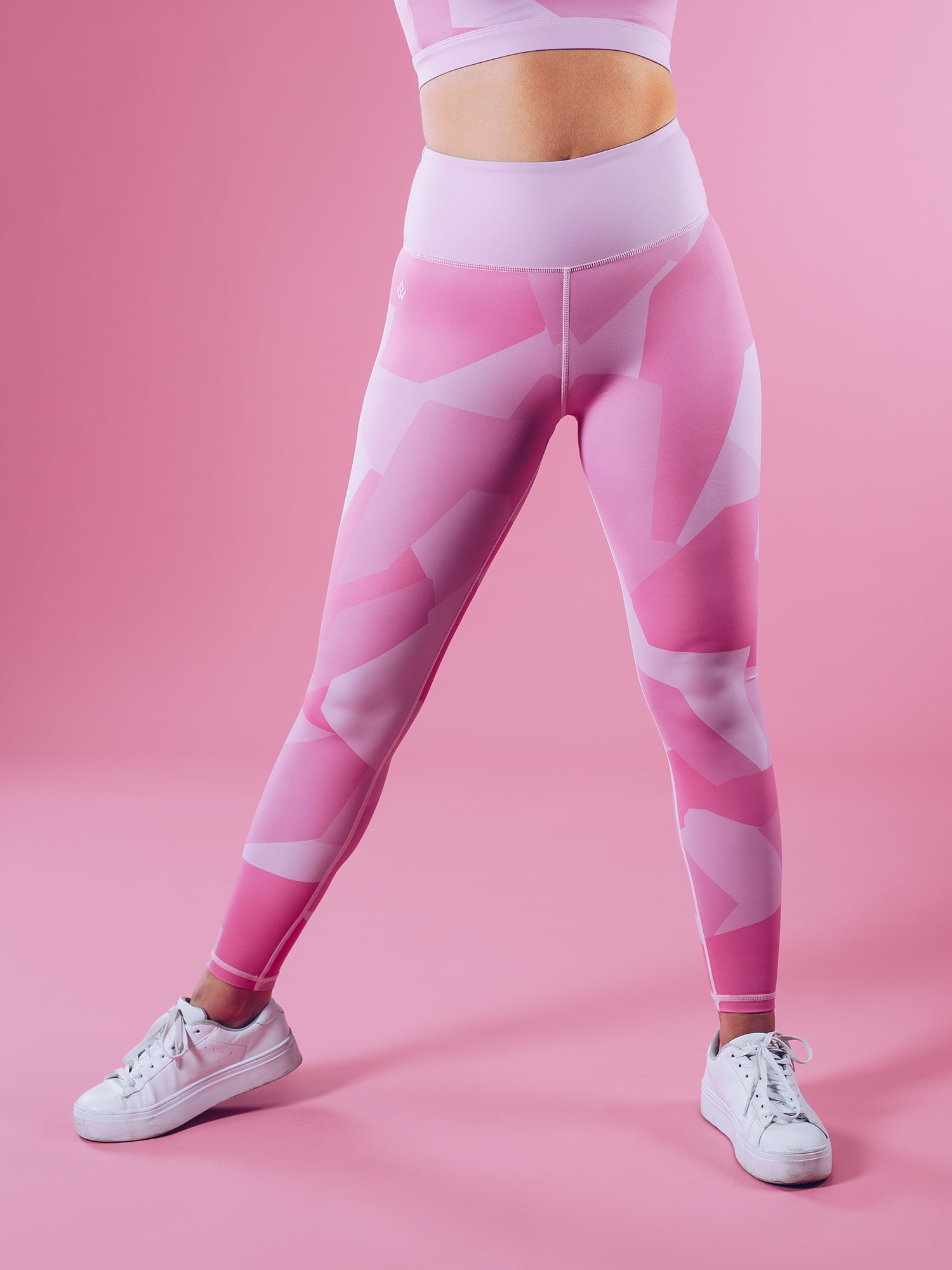 Shaping Sportlegging.Sportlegging Dames Camo Roze Workout Empire Shape