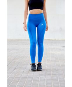 Vortex Legging Nautical Blue - High Waist Sportlegging Vrouwen Blauw-1