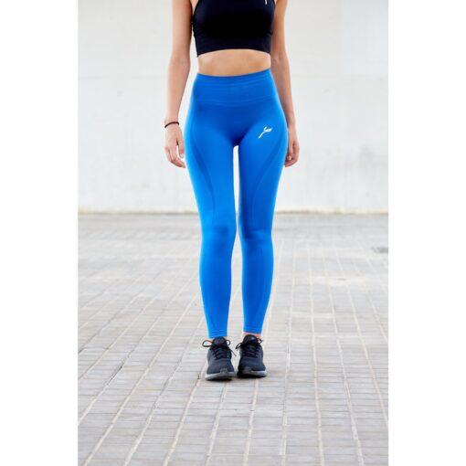Vortex Legging Nautical Blue - High Waist Sportlegging Vrouwen Blauw-1