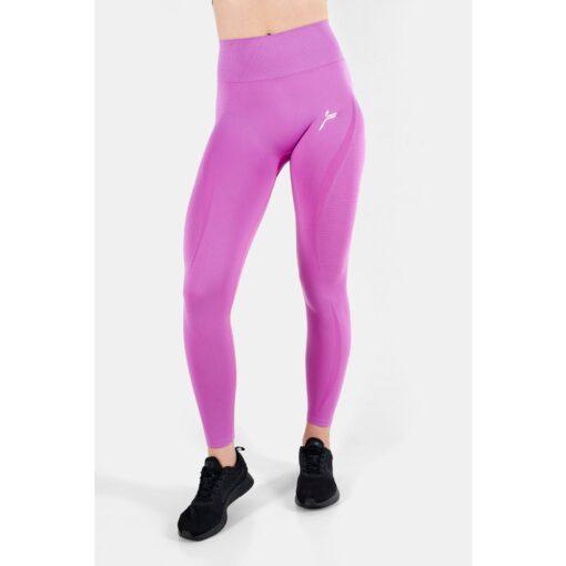 Vortex Legging Orchid - High Waist Sportlegging Vrouwen Donkerroze_5814_2000x