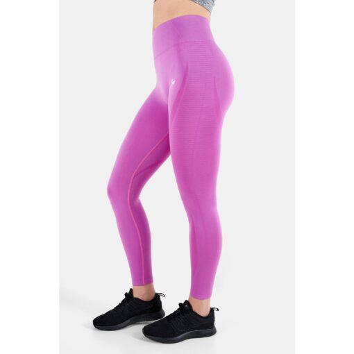 Vortex Legging Orchid - High Waist Sportlegging Vrouwen Donkerroze_5840_2000x