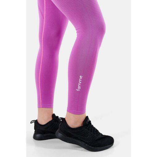 Vortex Legging Orchid - High Waist Sportlegging Vrouwen Donkerroze_5900_2000x
