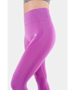 Vortex Legging Orchid - High Waist Sportlegging Vrouwen Donkerroze_5916_2000x