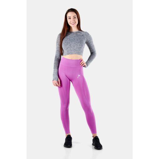 Vortex Legging Orchid - High Waist Sportlegging Vrouwen Donkerroze_5966_2000x