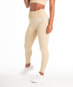 Sportlegging Dames Beige Seamless - Pursue Fitness Adapt-6