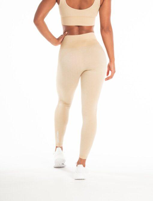 Sportlegging Dames Beige Seamless - Pursue Fitness Adapt-6