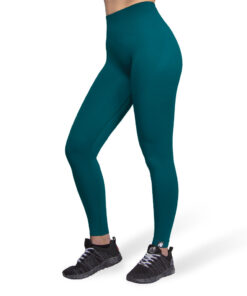 Sportlegging Dames Groen Seamless - Gorilla Wear Yava 1